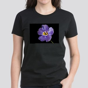 Blue Macro Flower T-Shirt