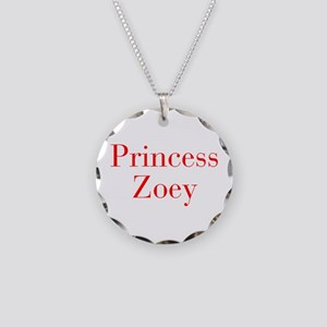 Princess Zoey-bod red Necklace
