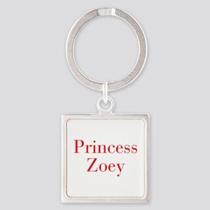 Princess Zoey-bod red Keychains