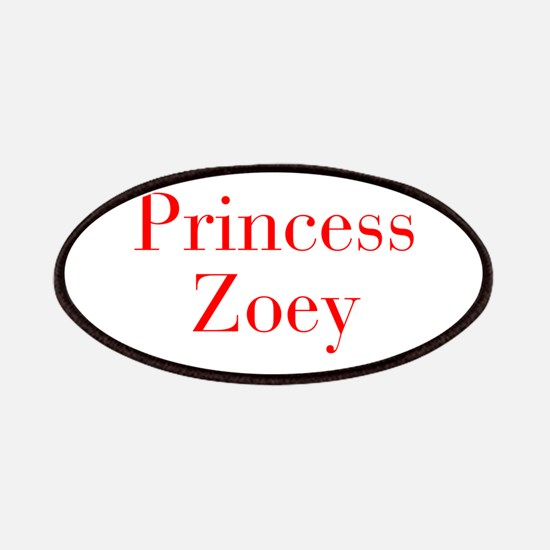 Princess Zoey-bod red Patches