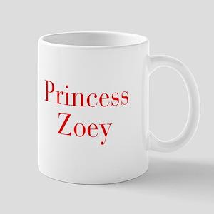 Princess Zoey-bod red Mugs