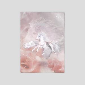 Flying Unicorn 5'x7'Area Rug