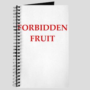forbidden fruit Journal
