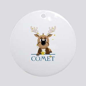 Comet Ornament (Round)