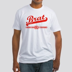 Brat P Fitted T-Shirt