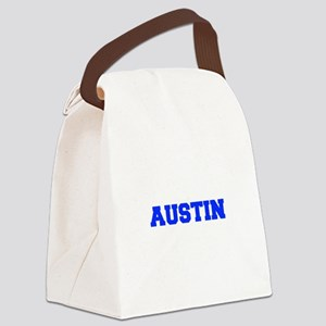 AUSTIN-fresh blue Canvas Lunch Bag