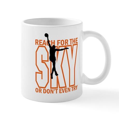 Basketball Reach for the Sky Mug