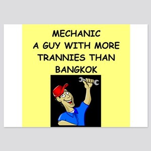 mechanic 5x7 Flat Cards