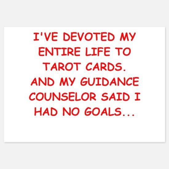 tarot cards 5x7 Flat Cards