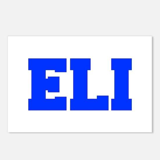 ELI-fresh blue Postcards (Package of 8)
