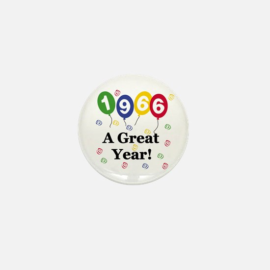 1966 A Great Year Mini Button