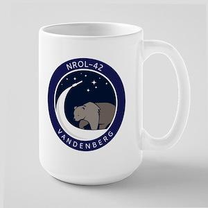 NROL-42 Launch Team 15 oz Ceramic Large Mug