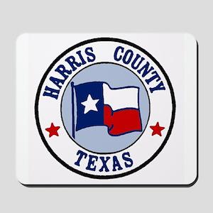 Harris County Texas Mousepad