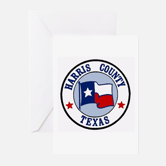 Harris County Texas Greeting Cards (Pk of 10)