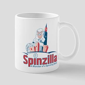 Spinzilla: A Monster of a Spinning Week Mugs