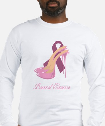 Stand Up Against Breast Cance Long Sleeve T-Shirt