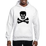 Skull and Crossed Bones Hooded Sweatshirt