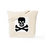 Skull and Crossed Bones Tote Bag