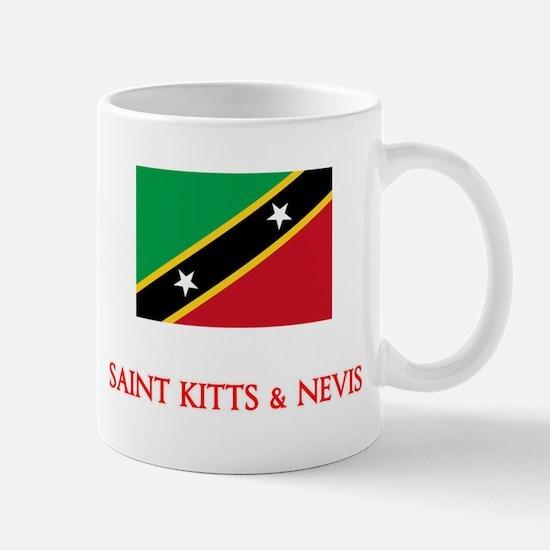 Saint Kitts & Nevis Flag Design Mugs