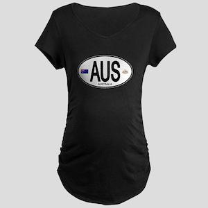 Australia Intl Oval Maternity Dark T-Shirt