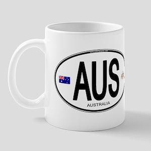 Australia Intl Oval Mug
