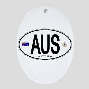 Australia Intl Oval Oval Ornament
