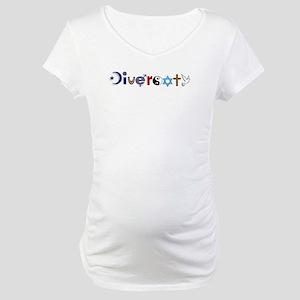 Diversity Maternity T-Shirt