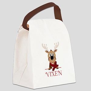Vixen Canvas Lunch Bag
