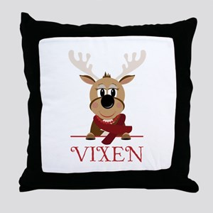 Vixen Throw Pillow