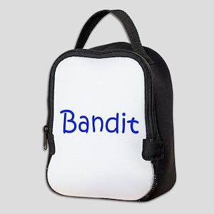 Bandit-kri blue Neoprene Lunch Bag