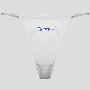 Bentley-kri blue Classic Thong