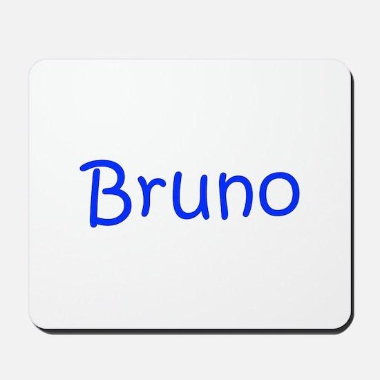 Bruno-kri blue Mousepad