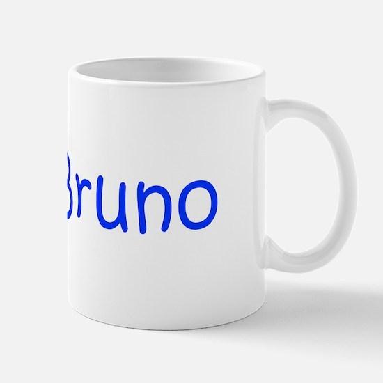 Bruno-kri blue Mugs
