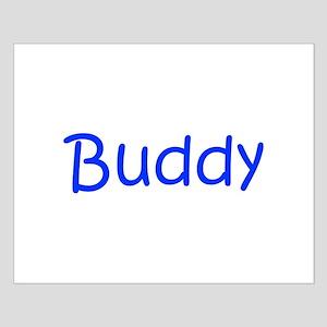 Buddy-kri blue Posters
