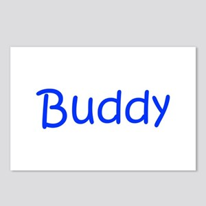 Buddy-kri blue Postcards (Package of 8)