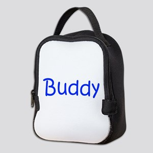 Buddy-kri blue Neoprene Lunch Bag