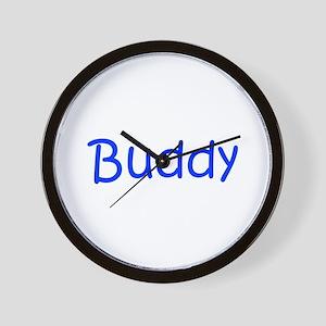 Buddy-kri blue Wall Clock