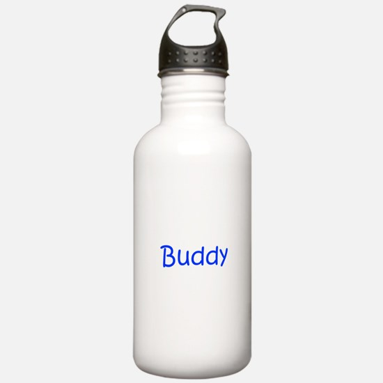 Buddy-kri blue Water Bottle