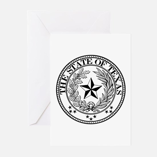 Texas State Seal Greeting Cards (Pk of 10)