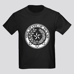 Texas State Seal Kids Dark T-Shirt