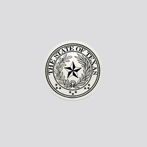 Texas State Seal Mini Button