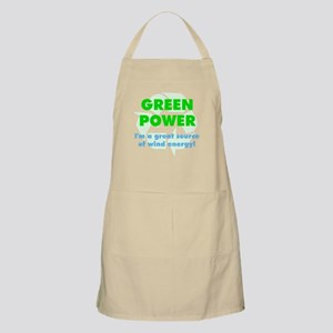 Wind Energy BBQ Apron