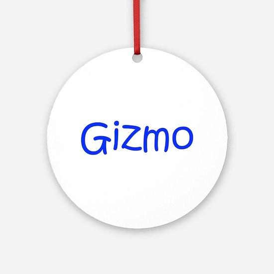 Gizmo-kri blue Ornament (Round)