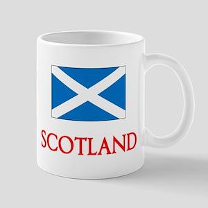 Scotland Flag Design Mugs