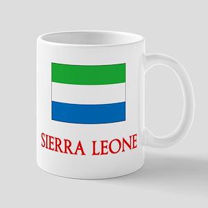 Sierra Leone Flag Design Mugs