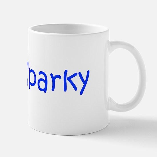 Sparky-kri blue Mugs
