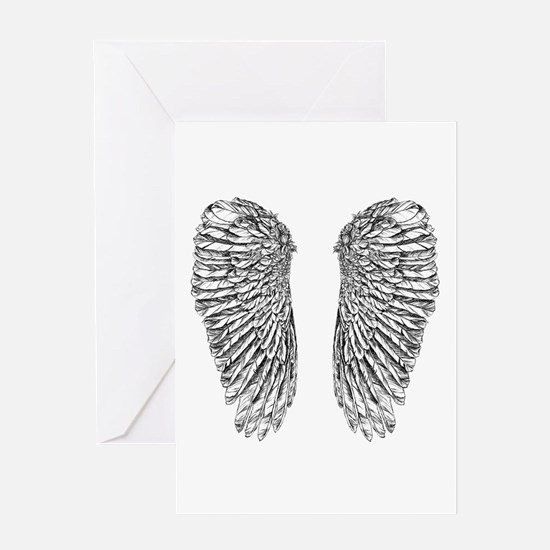 Angel Wings Greeting Cards