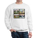 Original Yorkshire Terrier Art on a Sweatshirt