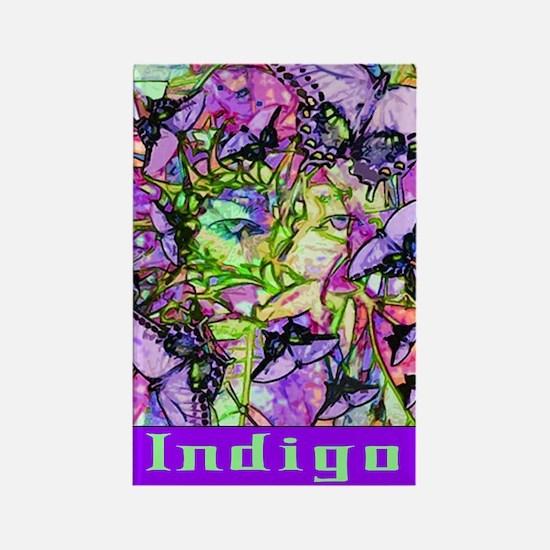 Indigo Rectangle Magnet