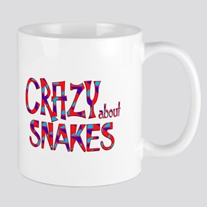 Crazy About Snakes Mugs